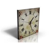Bonaviya Roma Rakamlı Tablo Saat 30x30 cm