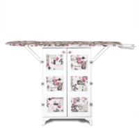 Dolaplı Katlanabilir Ütü Masası - Çift Kapılı