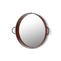 The Mia Bakır Kaplama Ayna 42 Cm