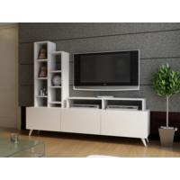 EvModüler Elegent Tv Ünitesi 00200-01 Beyaz Beyaz