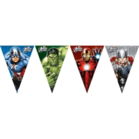 Pandoli Avengers Power 9 Lu Üçgen Bayrak