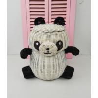 Cosıness Hasır Dekoratif Panda Sepet