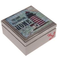 Orta Sofa Deniz fenerli küçük kutu