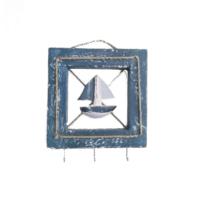 Orta Sofa Marin Anahtarlık / Askılık Yelkenli