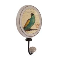 Evdebir Home Yeşil Kuş Desenli Duvar Askısı