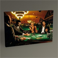 Tablo 360 Famous Poker Playing Tablo 45X30