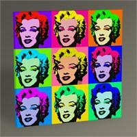 Tablo 360 Marilyn Monroe Pop Art Tablo 30X30