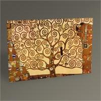 Tablo 360 Gustav Klimt Tree Of Life Tablo 45X30
