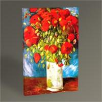 Tablo 360 Vincent Van Gogh-Poppies 1886 Tablo 45X30
