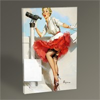Tablo 360 Pin Up Girl Iıı Tablo 45X30