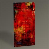 Tablo 360 Red Abstract Iı Tablo 60X30