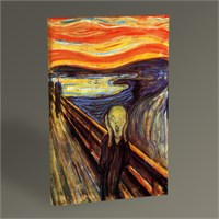 Tablo 360 Edvard Munch The Scream Tablo 45X30