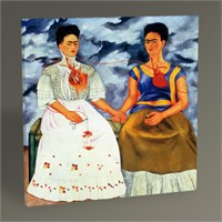 Tablo 360 Frida Kahlo The Two Fridas Tablo 30X30