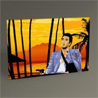 Tablo 360 Al Pacino Scarface Tablo 45X30