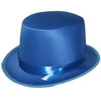 Pandoli Mavi Melon Şapka Şeritli