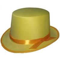 Pandoli Sarı Şeritli Melon Şapka