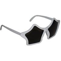 Pandoli Yıldız Şeklinde Süper Star Parti Gözlüğü - Beyaz