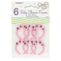 Partisepeti Baby Pink Trinket - 6 Adet