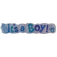 It's A Boy Banner 136 Cm