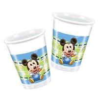 Partisepeti Baby Mickey Mouse Bardak 8 Li