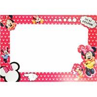 Minnie Mouse Doğum Günü Fotoğraf Çerçevesi