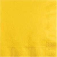 Sarı Peçete 20 Adet 33*33
