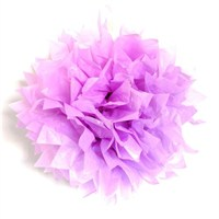 Partisepeti Ponpon Çiçek Süs- Lila