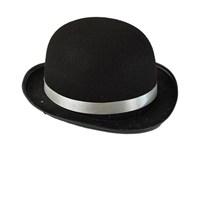 Siyah Charlie Chaplin Model Şapka