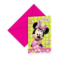 Minnie Mouse Davetiye