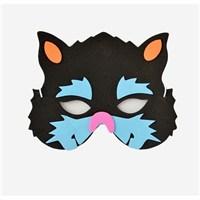 Partisepeti Siyah Kedi Maske
