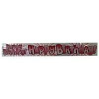Partisepeti Happy Birthday Banner