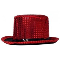 Sihirbaz Şapka Pullu - Kırmızı