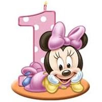 Baby Minnie Mouse Doğum Günü Parti Seti