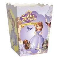Partisepeti Prenses Sofia Popcorn Kutusu