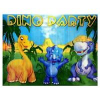 Partisepeti Sevimli Dinozorlar Masa Örtüsü