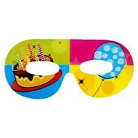 Partisepeti Pastalı Happy Birthday Maske