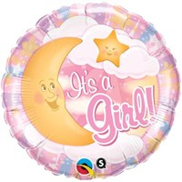 Partisepeti İts A Girl Bubbles Folyo Balon 56 Cm
