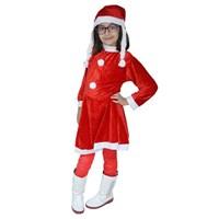 Partisepeti Noel Kız Çocuk Kostüm