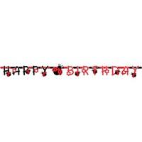 Partisepeti Uğur Böceği Happy Birthday Yazı