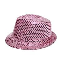 KullanAtMarket Payetli Fötr Şapka