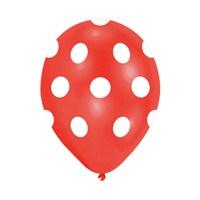 KullanAtMarket Kırmızı Puantiyeli Balon