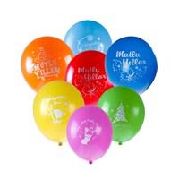 KullanAtMarket Renkli Mutlu Yıllar Balon