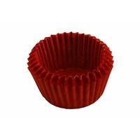 KullanAtMarket Kırmızı Mini Muffin Kağıdı