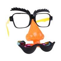 KullanAtMarket Palyaço Burun Gözlük Seti