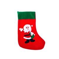 KullanAtMarket Noel Baba Yılbaşı Hediye Çorabı