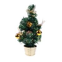 KullanAtMarket Mini Altın Yılbaşı Ağacı 30 Cm