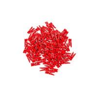 KullanAtMarket Kırmızı Süs Mandal