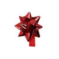 KullanAtMarket Metalik Kırmızı Fiyonk Süs