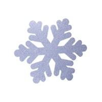 KullanAtMarket Gümüş Kar Tanesi Duvar Süs 50 Cm