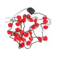 KullanAtMarket Kırmızı Kalpli Işık